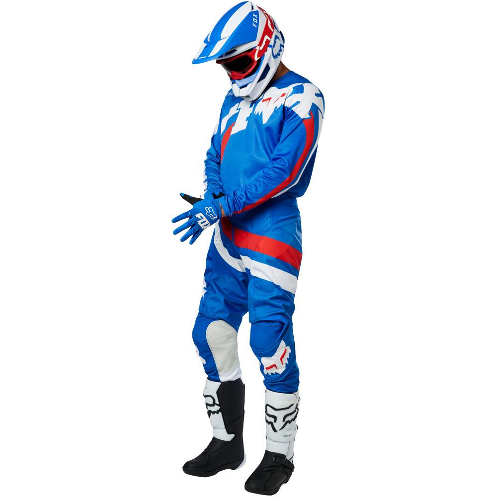 Fox - 2019 180 Youth Cota Blue комплект подростковый джерси и штаны, синие