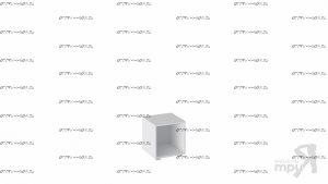 Стеллаж модульный Литл Тип 1