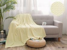 Плед велсофт Royal  plush 1.5-спальный 150*200  Арт.150/017-RP