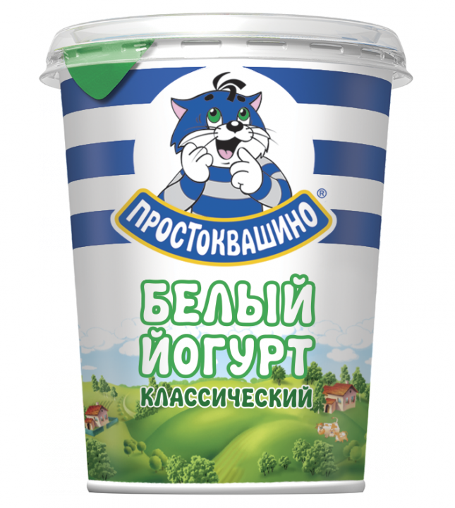 Йогурт Простоквашино 2.5% густой белый 0,480л. т/пак. Юнимилк