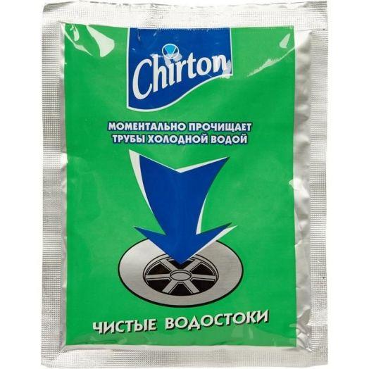 Средство д/чистки труб Чиртон порошок пакет 60г