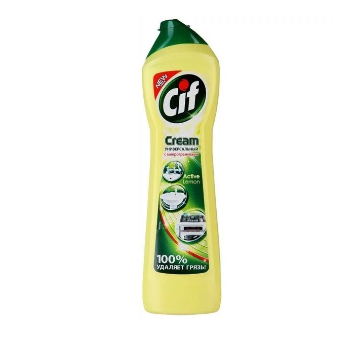 Чистящий крем CIF 500мл Лимон