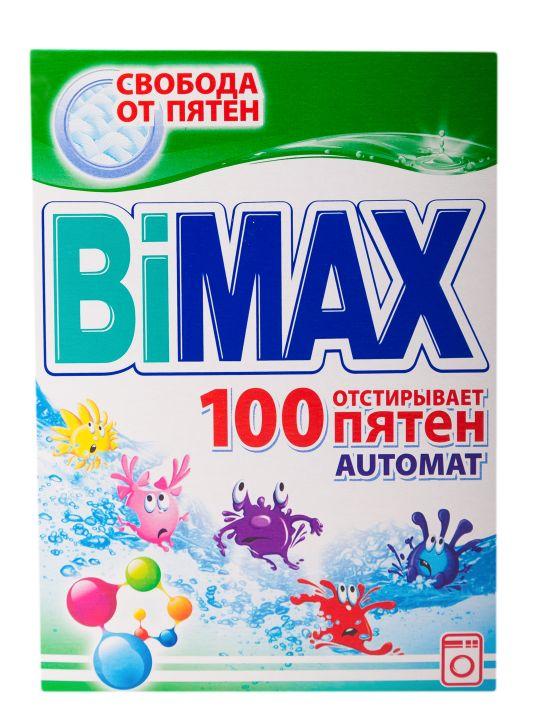 Стир. порошок BiMax 400г автомат 100 пятен