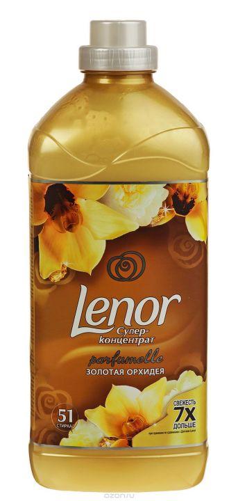 Кондиционер д/белья/концентрат Ленор 1,8л Золотая Орхидея