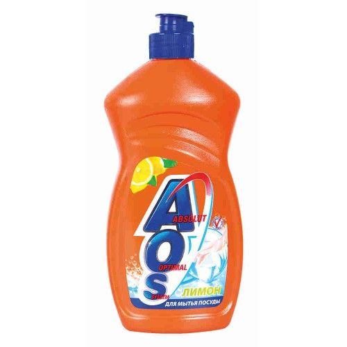 Средство д/посуды АOS 500мл Лимон фн