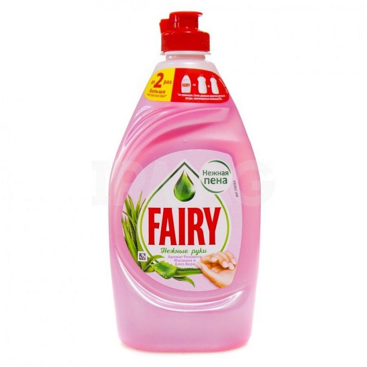 Средство д/посуды Фейри 900мл Нежные руки Розовый Жасмин и Алоэ Вера