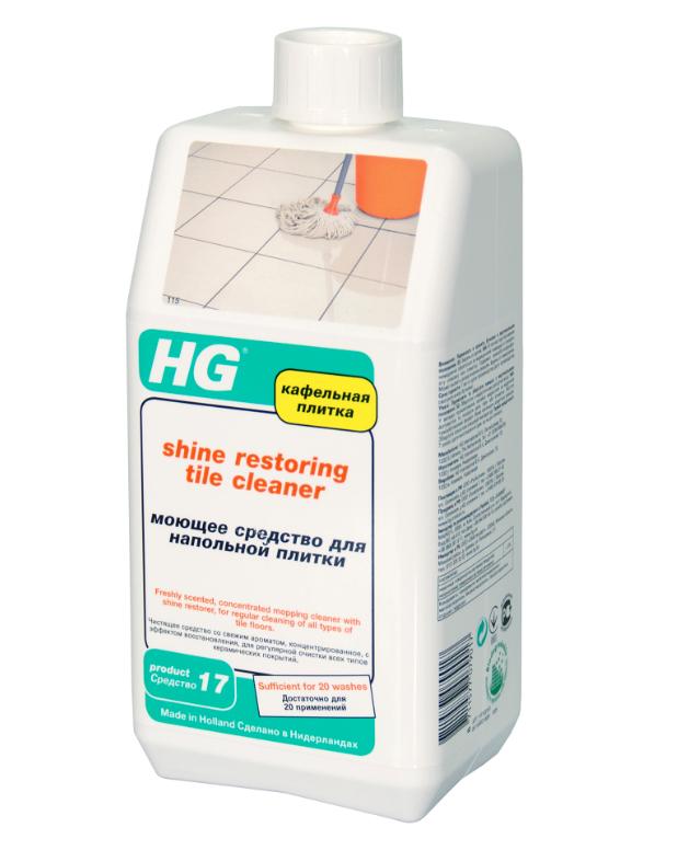 HG Моющее средство для напольной плитки, 1000 мл