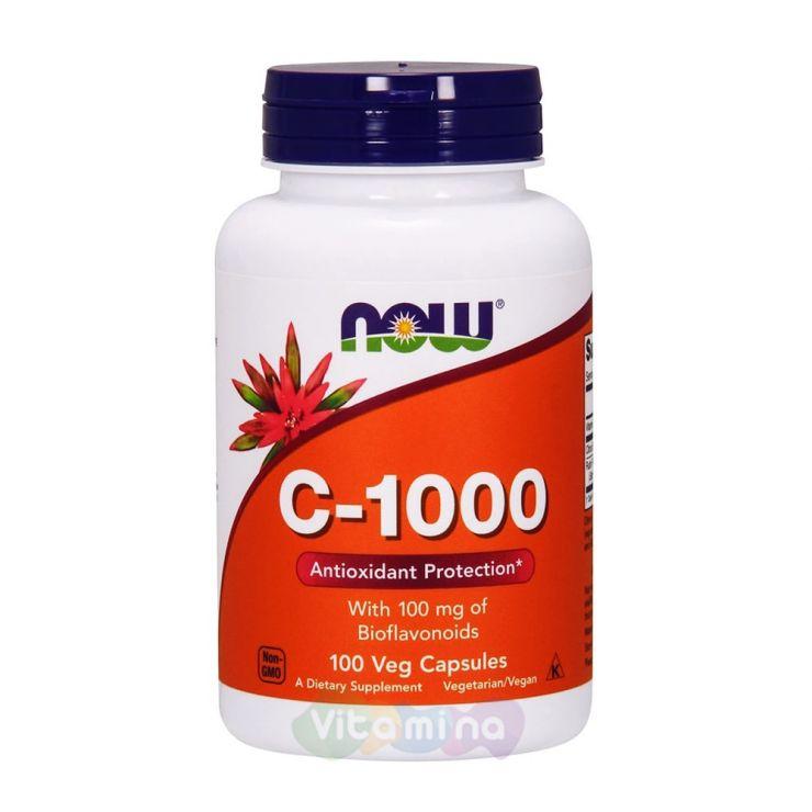 Витамин С-1000 с Биофлавоноидами, 100 капс