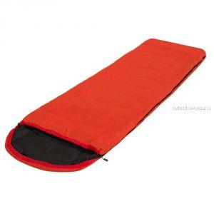 Спальный мешок Prival Camp Bag  оранжевый /одеяло с подголовником, размер 220х75, t +10 +22С
