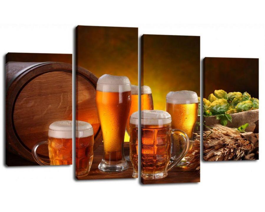 Модульная картина Пиво разливное