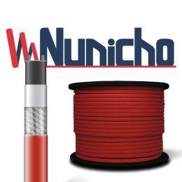 Пищевой саморегулирующийся нагревательный кабель (Внутрь трубы) на отрез NUNICHO Micro 13-2 CR  (с экраном), 13 Вт/м. Пр-во Южная Корея.