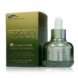BERGAMO Ампульная сыворотка с экстрактом икры от морщин, 30г