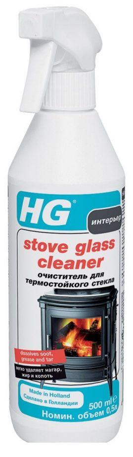 HG Очиститель для термостойкого стекла, 500 мл