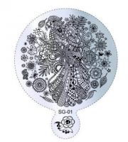 Пластина для стемпинга круглая SG 01