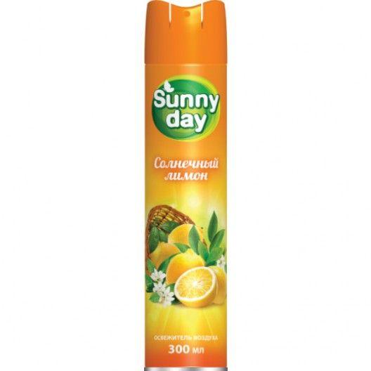 Освежитель воздуха SUNNY DAY 300см3 Солнечный лимон
