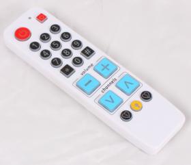 Обучаемый пульт с крупными кнопками и подсветкой