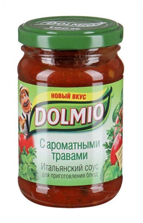 Соус Долмио с ароматными травами 210г