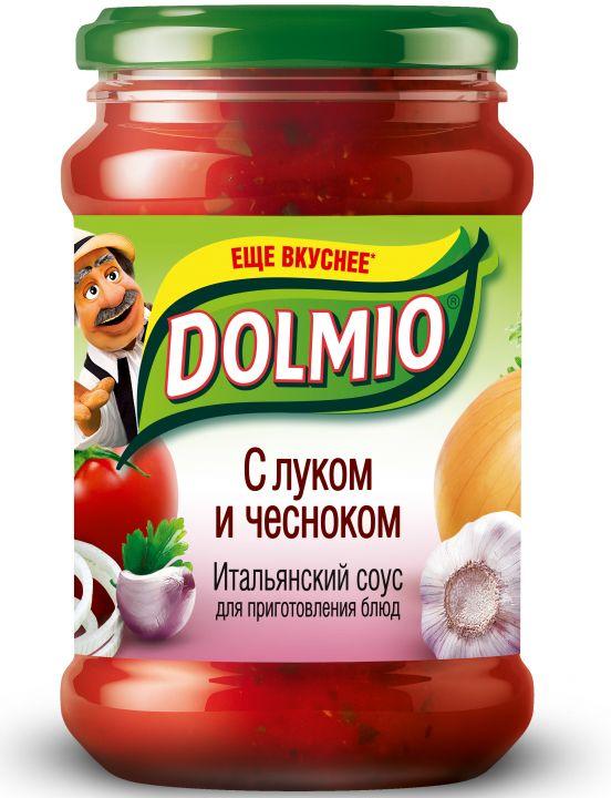 Соус Долмио с луком и чесноком 350г