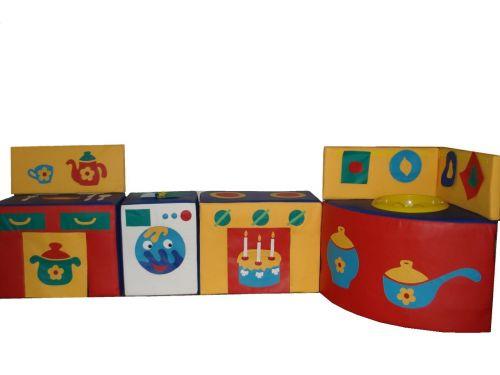 Детская игровая «Кухня» 0,5 м3, 10 кг.