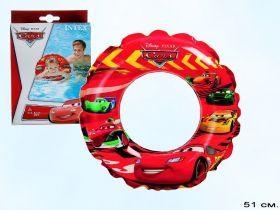 Bestway Детский надувной круг Тачки