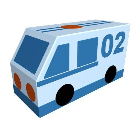 Мягкий модуль Фургон Полиция Романа ДМФ-МК-01.23.03