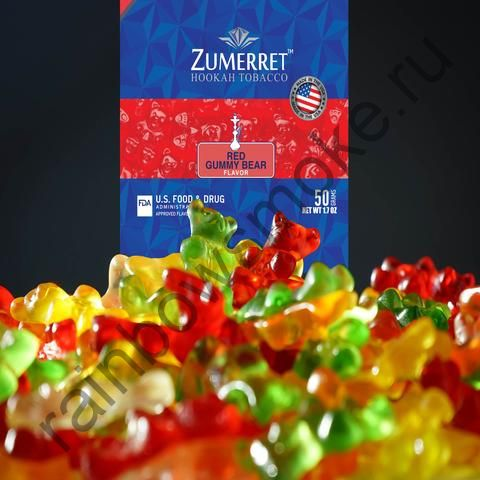 Zumerret Blue Edition 50 гр - Red Gummy Bear (Красные Мишки Гамми)