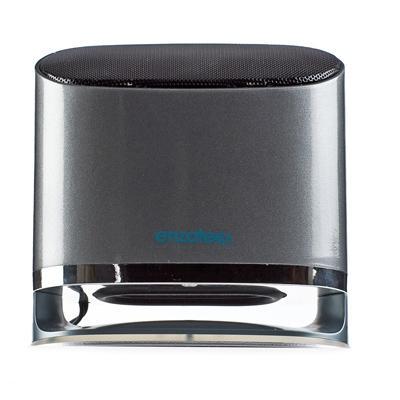 Колонка-система ENZATEC SP703GY, USB, 2.0-в-1, чёрная, настольная (1/8)