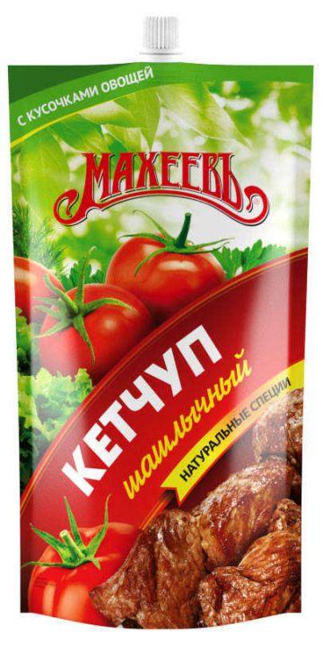 Кетчуп МАХЕЕВЪ шашлычный д/п 300г