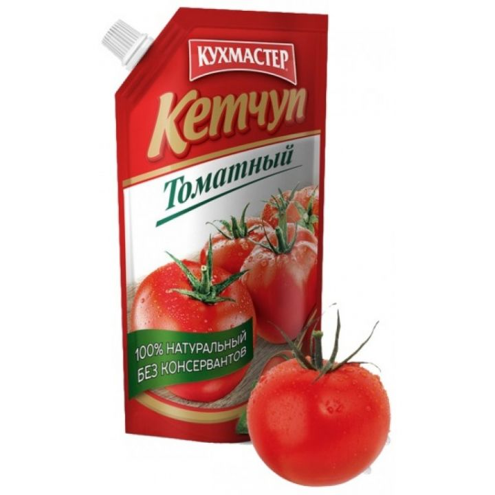 Кетчуп Кухмастер томатный д/п 350г