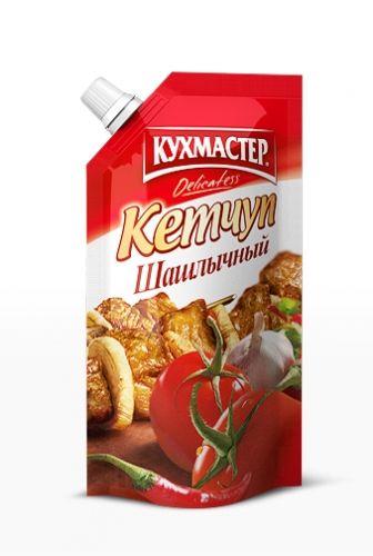 Кетчуп Кухмастер шашлычный д/п 350г