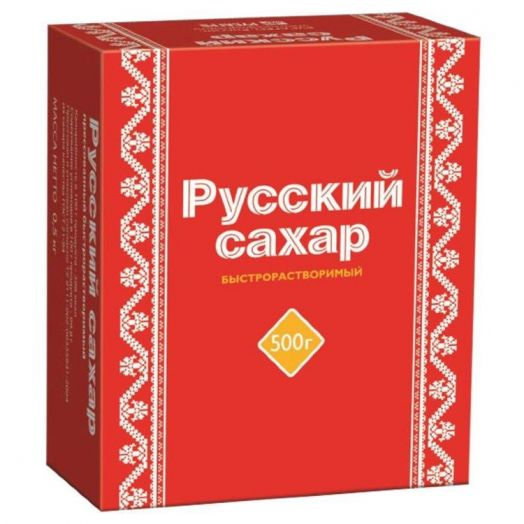 Сахар-рафинад Русский 500г Белгород