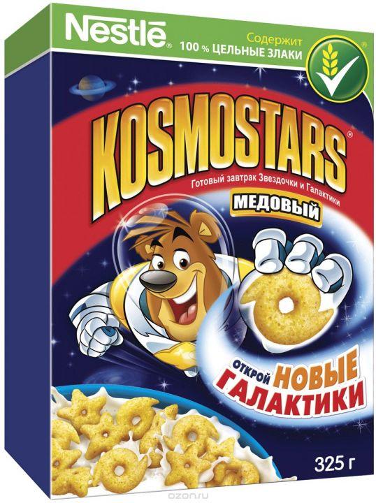 Завтрак Космостарс медовые звездочки 325г Нестле