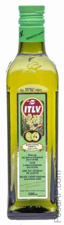 Масло ITLV из виноградных косточек ст/б 0,25л