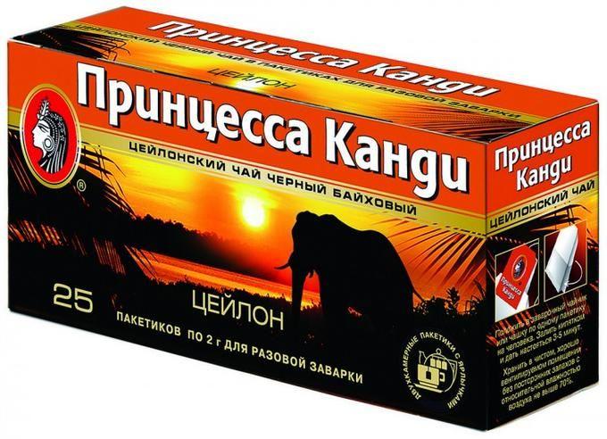 Чай Принцесса Канди Цейлон 25пак*2г