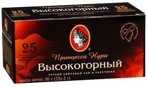 Чай Принцесса Нури Дабл HG с/я 25пак*2г