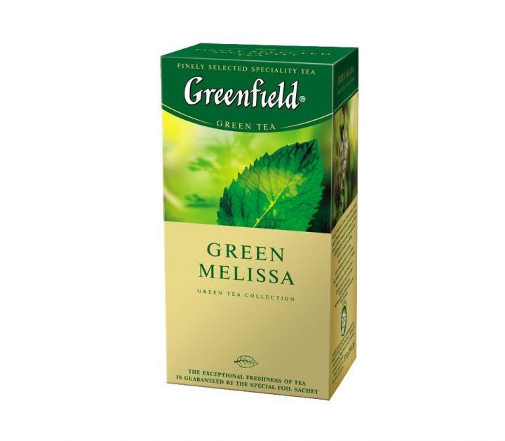 Чай Гринфилд Грин Милисса зеленый 25пак*2г