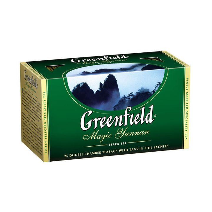 Чай Гринфилд Меджик Юньнань 25пак*2г