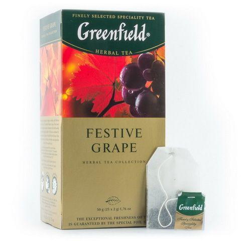 Чай Гринфилд Фестив Грейп 25пак*1,5г