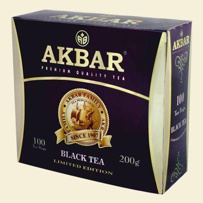 Чай Акбар Limited Edition с/я 100пак.*2г