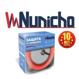 Готовый комплект кабеля NUNICHO Micro внутрь трубы 10 Вт/м - 2 метра  с вилкой и сальниковым узлом 1/2 и 3/4
