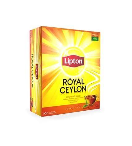 Чай Липтон Роял Цейлон 100пак.*2г