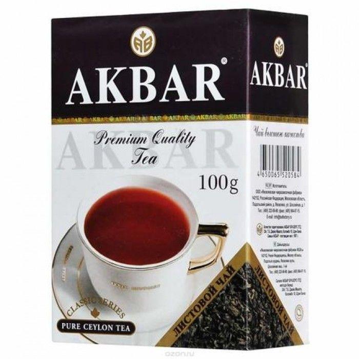 Чай Акбар Классическая серия ( лист) 100г