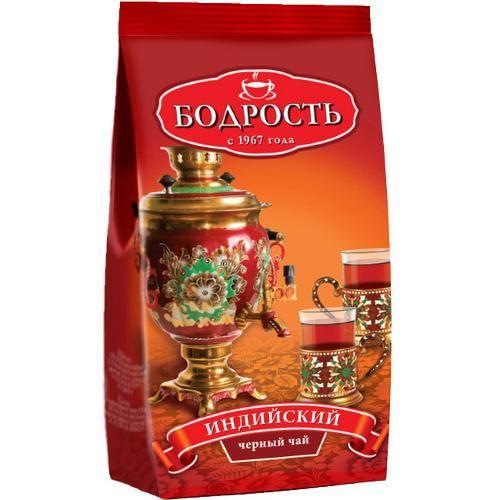 Чай Бодрость традиционный черный байховый м/у 250г