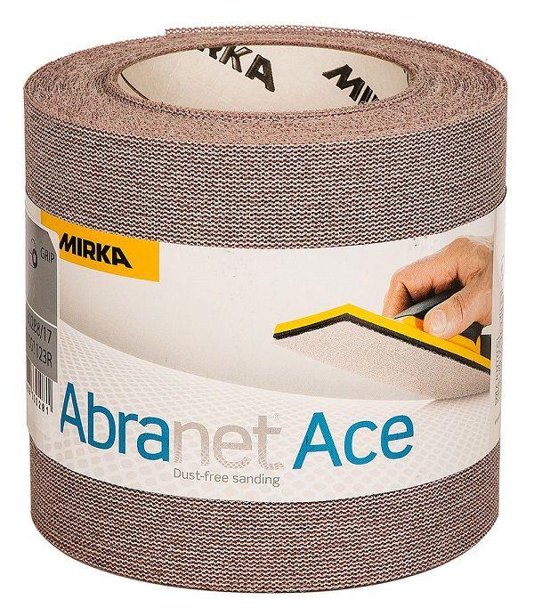Mirka ABRANET ACE Шлифовальный материал на синтетической сетчатой основе, 115мм. х 10м., Р240