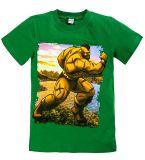 Зеленая футболка для мальчишек  купить от Bonito kids