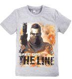 Серая футболка для мальчишек  купить от Bonito kids