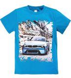 Голубая футболка для мальчишек  купить от Bonito kids