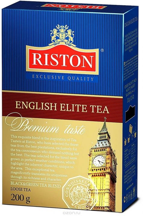Чай Ристон Элитный Английский лист 200г