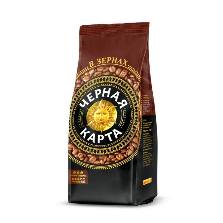 Кофе Черная карта зерно м/у 250г