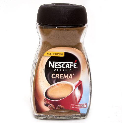 Кофе Нескафе Классик Крема ст/б 95г